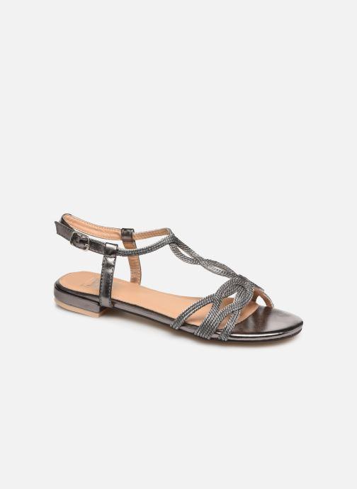 Sandales et nu-pieds I Love Shoes CALANDRA Argent vue détail/paire