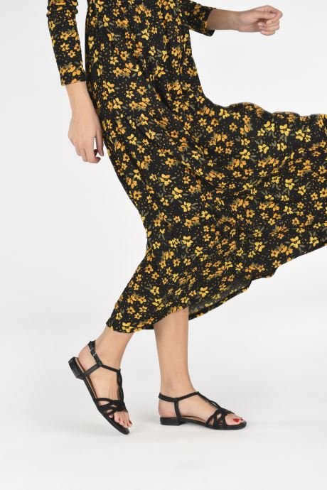 Sandales et nu-pieds I Love Shoes CALANDRA Noir vue bas / vue portée sac