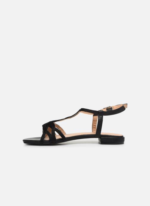 Sandales et nu-pieds I Love Shoes CALANDRA Noir vue face