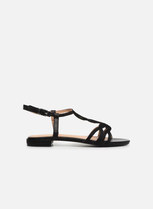 Sandales et nu-pieds I Love Shoes CALANDRA Noir vue derrière