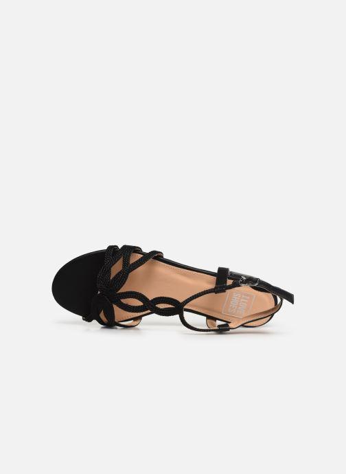 Sandales et nu-pieds I Love Shoes CALANDRA Noir vue gauche