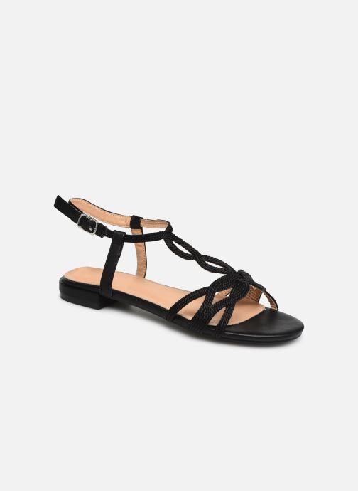 Sandales et nu-pieds I Love Shoes CALANDRA Noir vue détail/paire