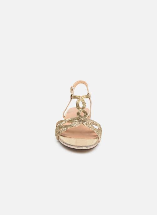 Sandalen I Love Shoes CALANDRA Goud en brons model