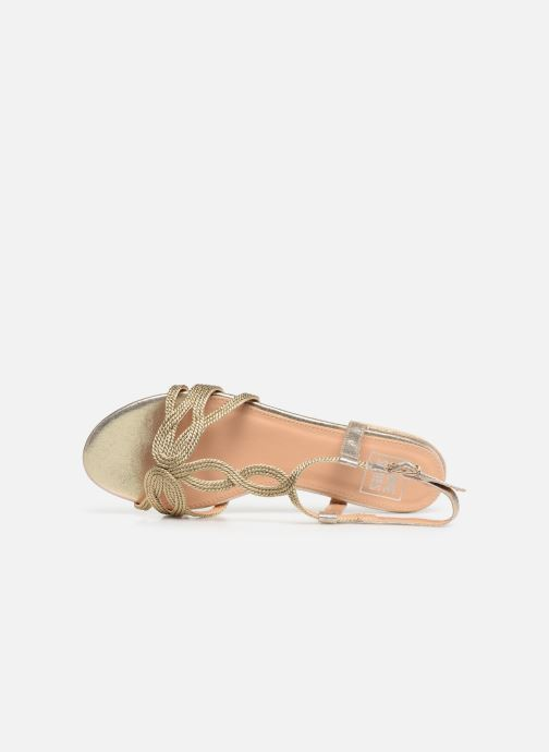 Sandalen I Love Shoes CALANDRA Goud en brons links