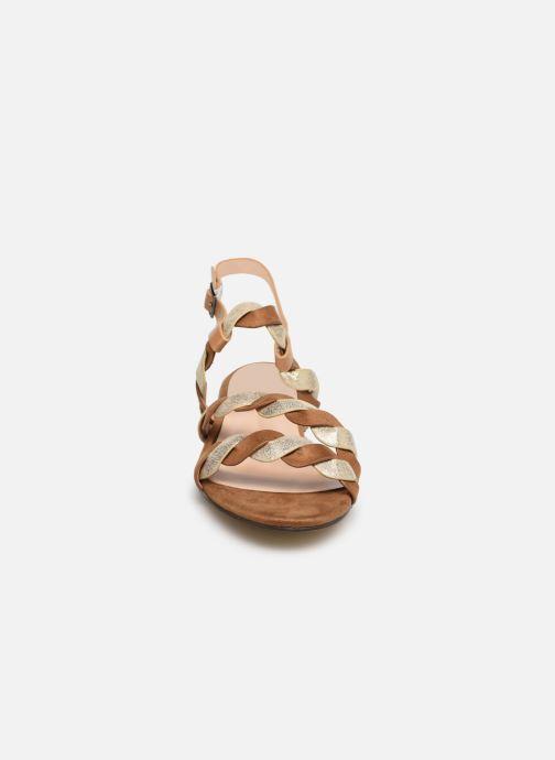 Sandales et nu-pieds I Love Shoes CALIPSO Marron vue portées chaussures