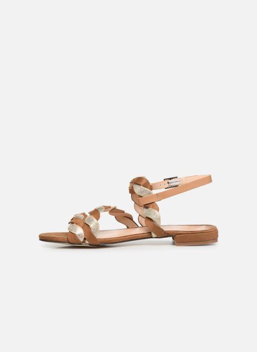 Sandales et nu-pieds I Love Shoes CALIPSO Marron vue face