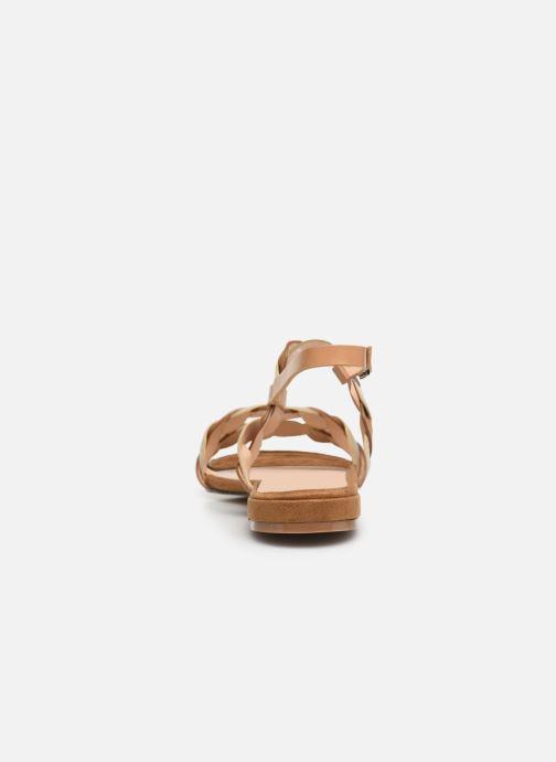 Sandalias I Love Shoes CALIPSO Marrón vista lateral derecha