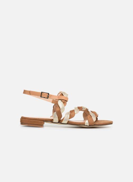 Sandales et nu-pieds I Love Shoes CALIPSO Marron vue derrière