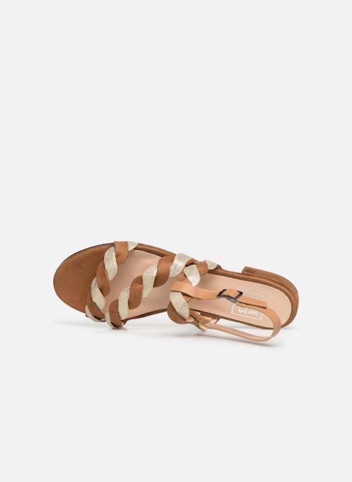 Sandalias I Love Shoes CALIPSO Marrón vista lateral izquierda