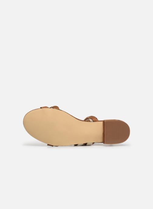 Sandalias I Love Shoes CALIPSO Marrón vista de arriba