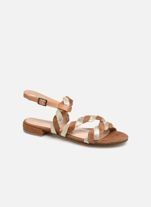 Sandales et nu-pieds I Love Shoes CALIPSO Marron vue détail/paire