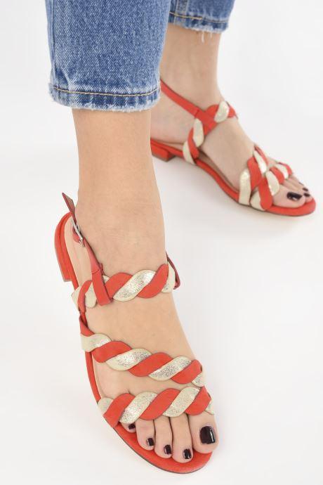Sandalias I Love Shoes CALIPSO Rojo vista de abajo