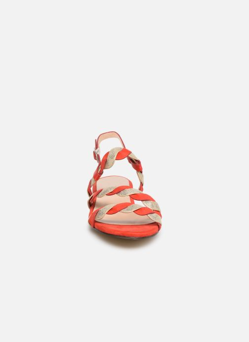 Sandales et nu-pieds I Love Shoes CALIPSO Rouge vue portées chaussures