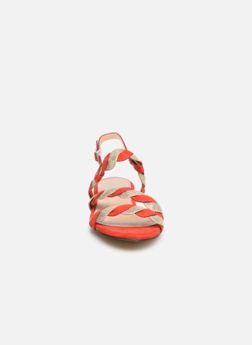 Sandali e scarpe aperte I Love Shoes CALIPSO Rosso modello indossato