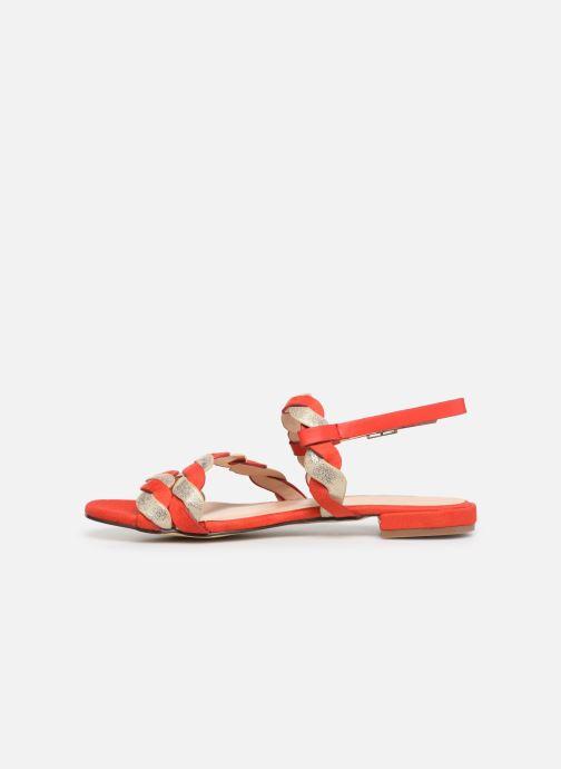 Sandales et nu-pieds I Love Shoes CALIPSO Rouge vue face