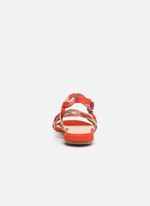 Sandalias I Love Shoes CALIPSO Rojo vista lateral derecha