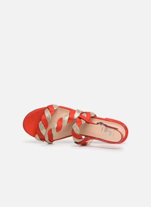 Sandales et nu-pieds I Love Shoes CALIPSO Rouge vue gauche