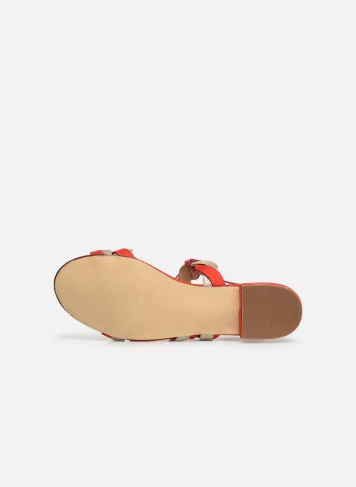 Sandali e scarpe aperte I Love Shoes CALIPSO Rosso immagine dall'alto