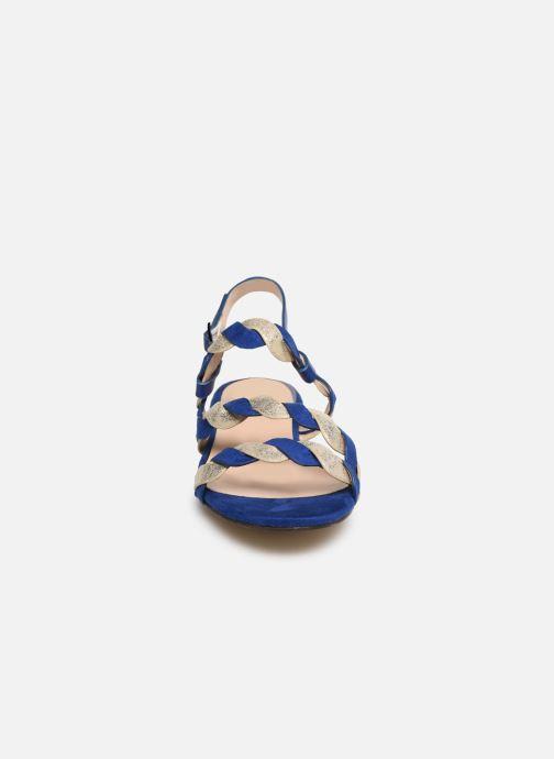 Sandali e scarpe aperte I Love Shoes CALIPSO Azzurro modello indossato