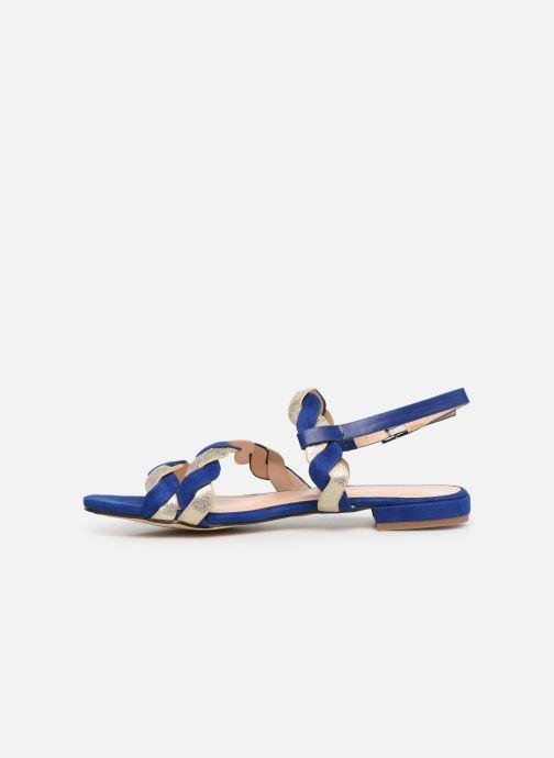 Sandales et nu-pieds I Love Shoes CALIPSO Bleu vue face
