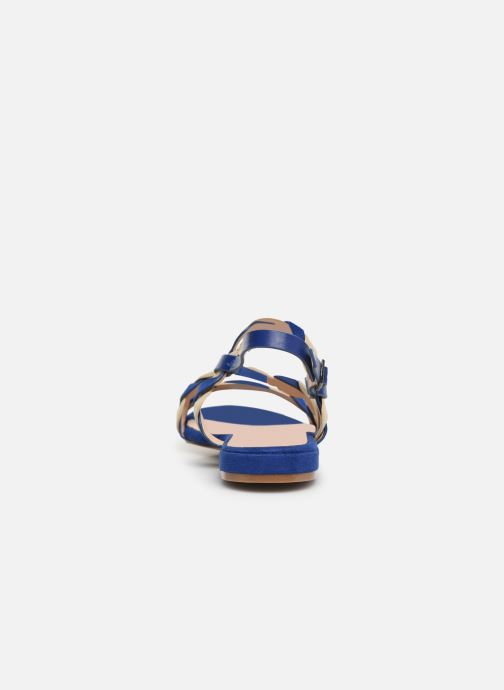 Sandalias I Love Shoes CALIPSO Azul vista lateral derecha