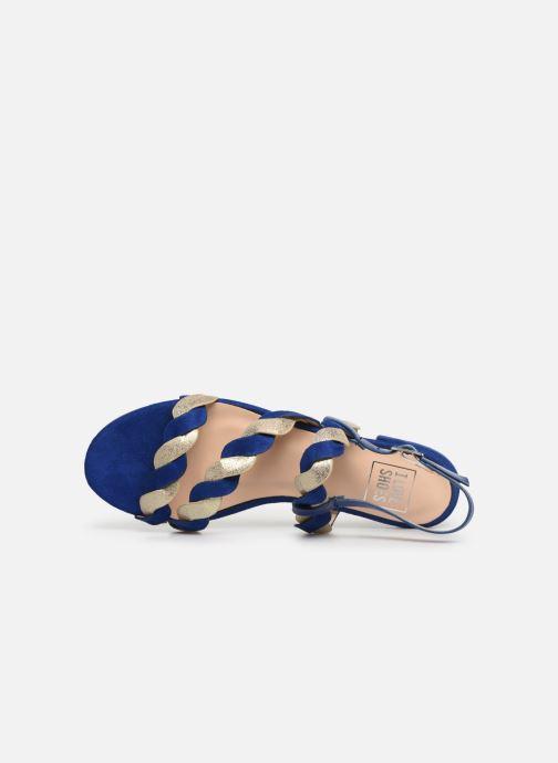 Sandales et nu-pieds I Love Shoes CALIPSO Bleu vue gauche