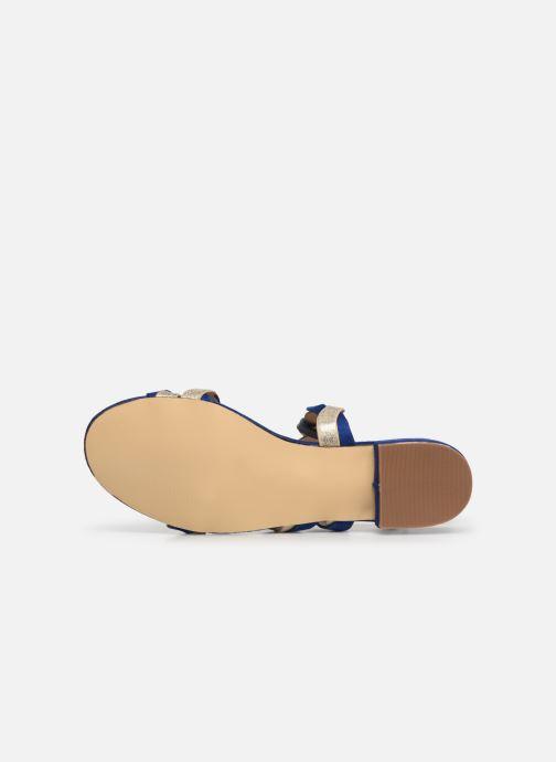 Sandales et nu-pieds I Love Shoes CALIPSO Bleu vue haut