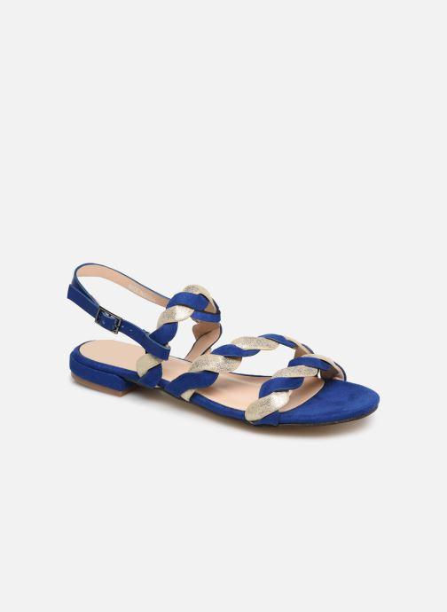 Sandales et nu-pieds I Love Shoes CALIPSO Bleu vue détail/paire