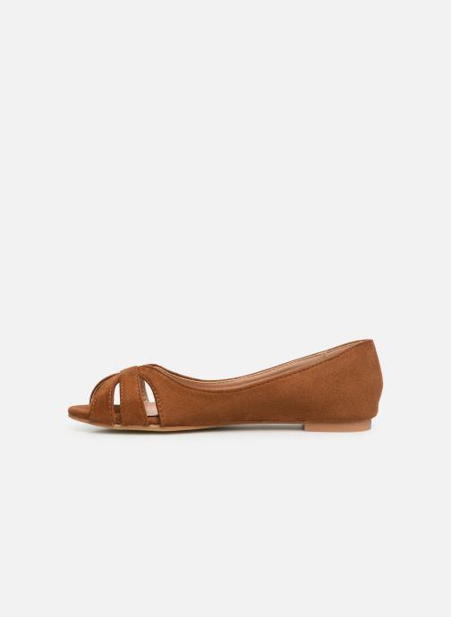 Ballerines I Love Shoes CARREN Marron vue face