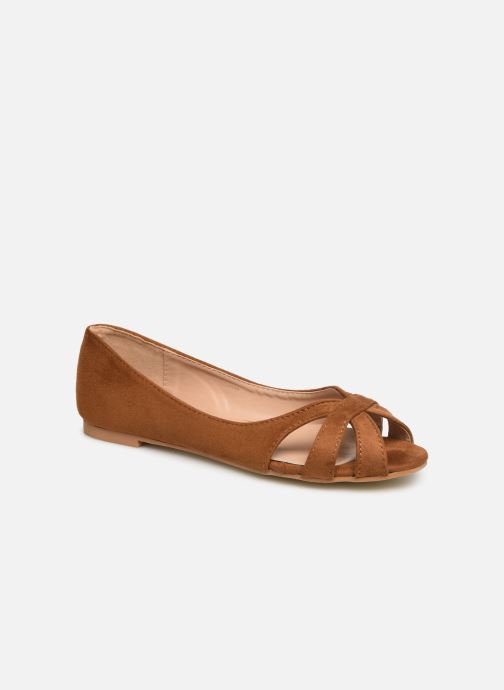 Ballerines I Love Shoes CARREN Marron vue détail/paire