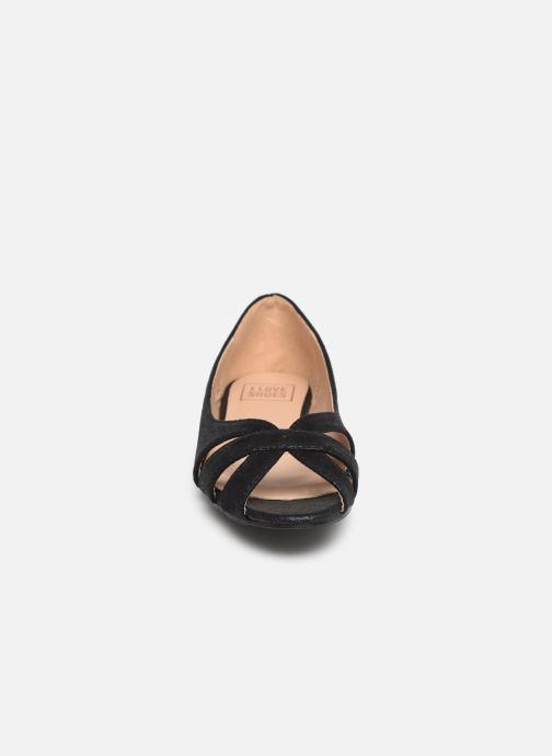 Ballerines I Love Shoes CARREN Noir vue portées chaussures