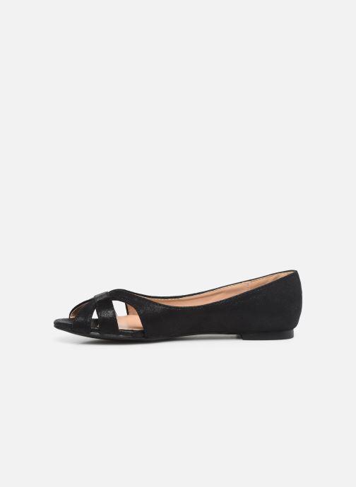 Bailarinas I Love Shoes CARREN Negro vista de frente