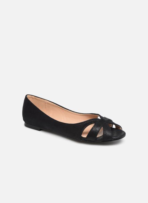 Ballerines I Love Shoes CARREN Noir vue détail/paire