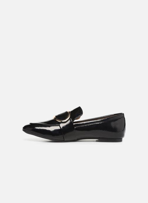 Mocasines I Love Shoes CAMELIE Negro vista de frente