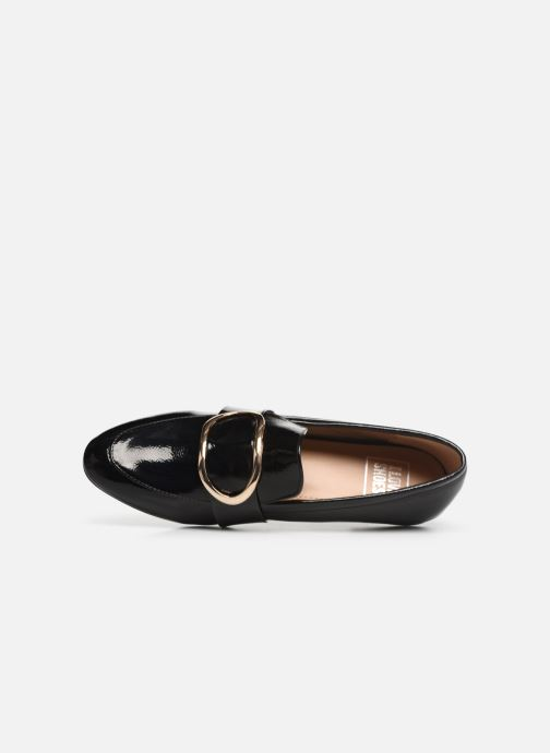 Mocasines I Love Shoes CAMELIE Negro vista lateral izquierda