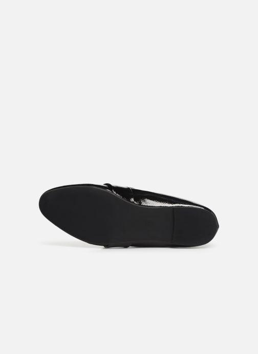 Mocassins I Love Shoes CAMELIE Noir vue haut