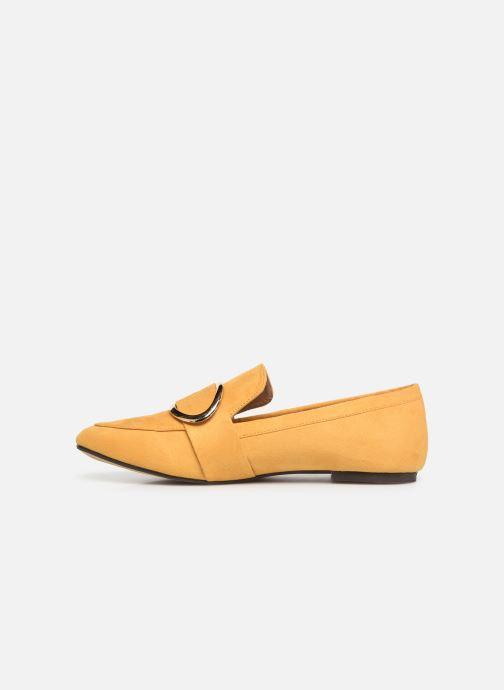Mocassins I Love Shoes CAMELIE Jaune vue face
