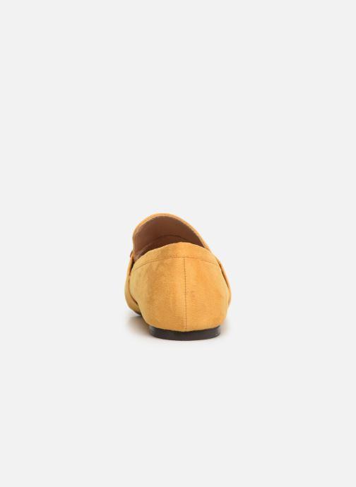 Mocassins I Love Shoes CAMELIE Jaune vue droite
