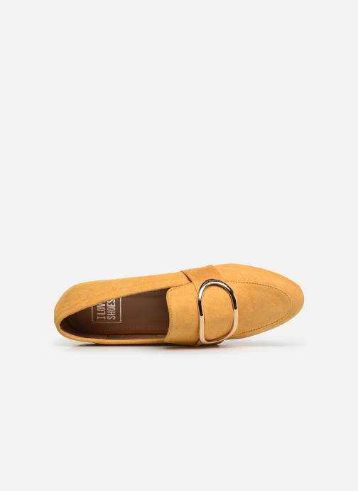 Mocassins I Love Shoes CAMELIE Jaune vue gauche