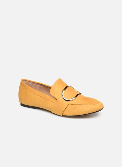 Mocassins I Love Shoes CAMELIE Jaune vue détail/paire