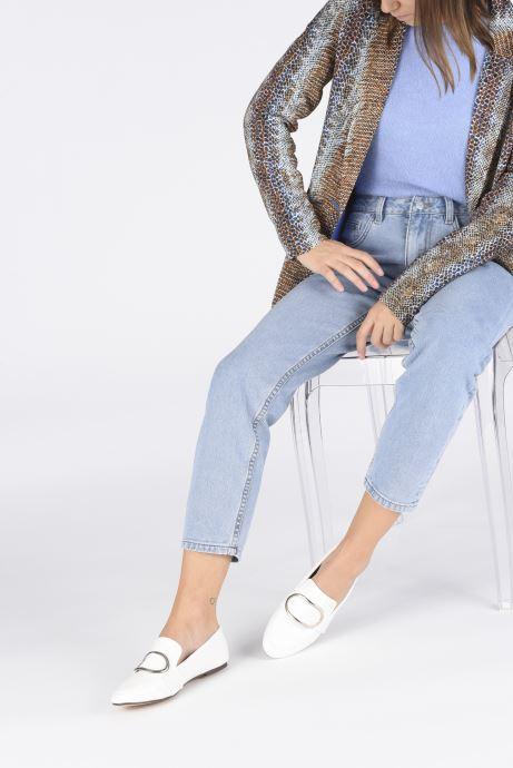 Mocassini I Love Shoes CAMELIE Bianco immagine dal basso