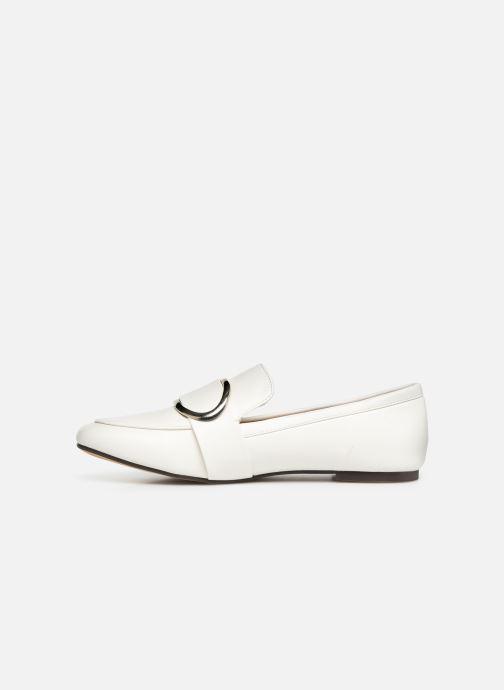 Mocassins I Love Shoes CAMELIE Blanc vue face
