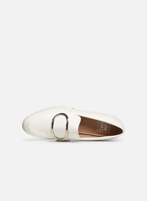 Mocassins I Love Shoes CAMELIE Blanc vue gauche