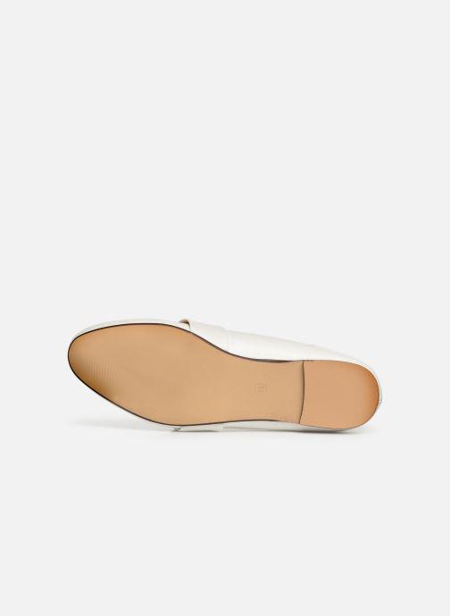 Mocassins I Love Shoes CAMELIE Blanc vue haut