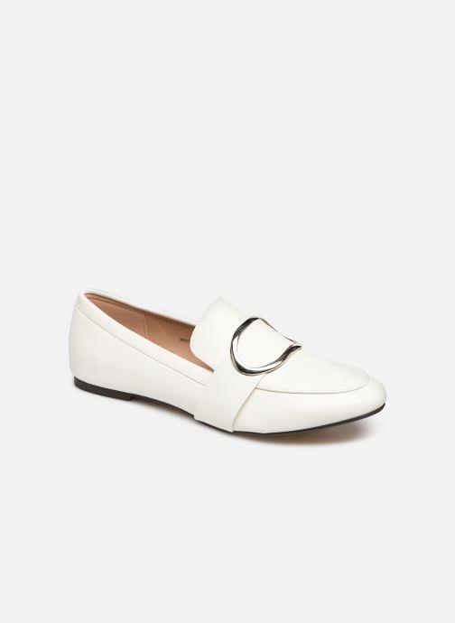 Mocassins I Love Shoes CAMELIE Blanc vue détail/paire