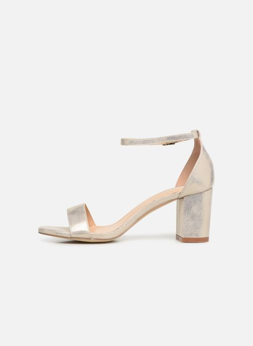 Sandalias I Love Shoes CABBY Oro y bronce vista de frente