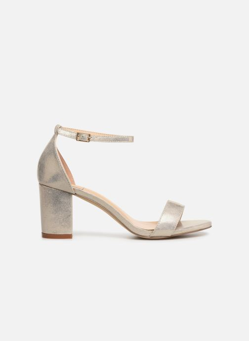 Sandalias I Love Shoes CABBY Oro y bronce vistra trasera