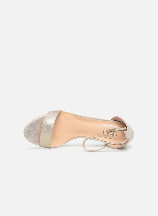 Sandalias I Love Shoes CABBY Oro y bronce vista lateral izquierda