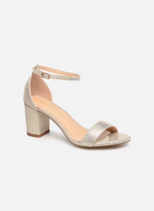 Sandales et nu-pieds I Love Shoes CABBY Or et bronze vue détail/paire