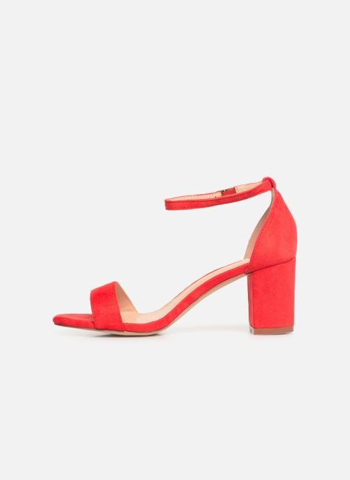 Sandales et nu-pieds I Love Shoes CABBY Rouge vue face